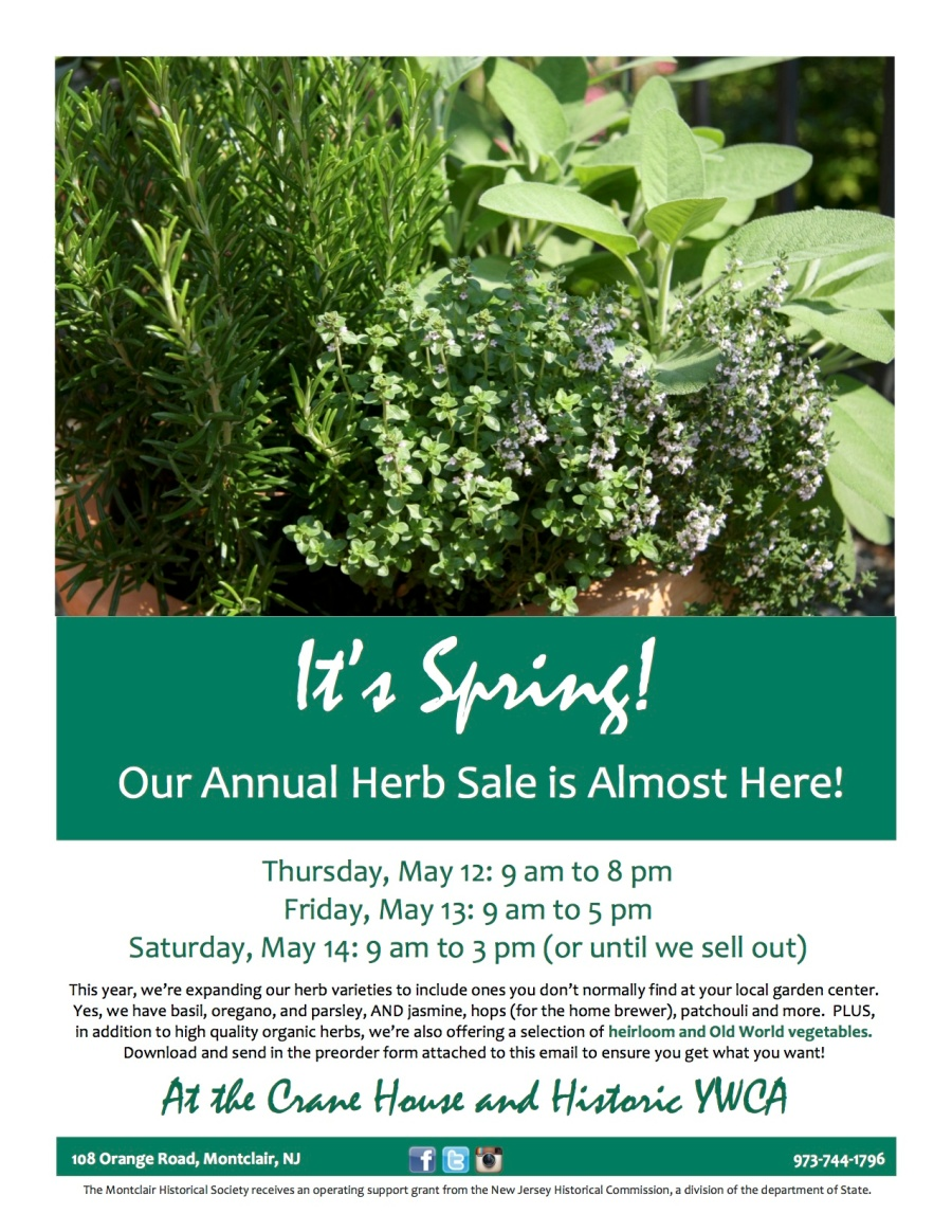 Annual Herb Sale Flyer 2016 email
